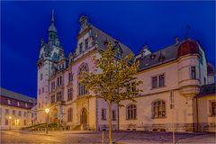 Das Rathaus von Bernburg