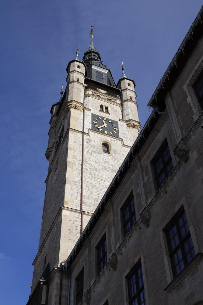 Das Rathaus von Dessau