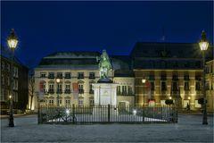 Das Rathaus von Düsseldorf