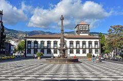 Das Rathaus von Funchal auf Madeira