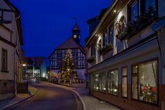 Das Rathaus von Gernrode ( Harz )