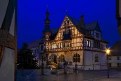 Das Rathaus von Harzgerode