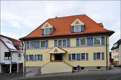 Das Rathaus von Kirchentellinsfurt