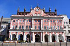 Das Rathaus von Rostock