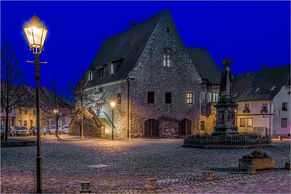 Das Rathaus von Wegeleben