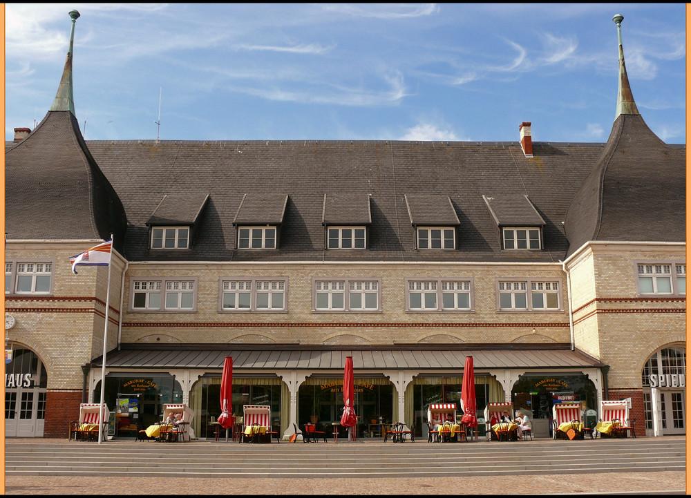 Das Rathaus von Westerland auf Sylt