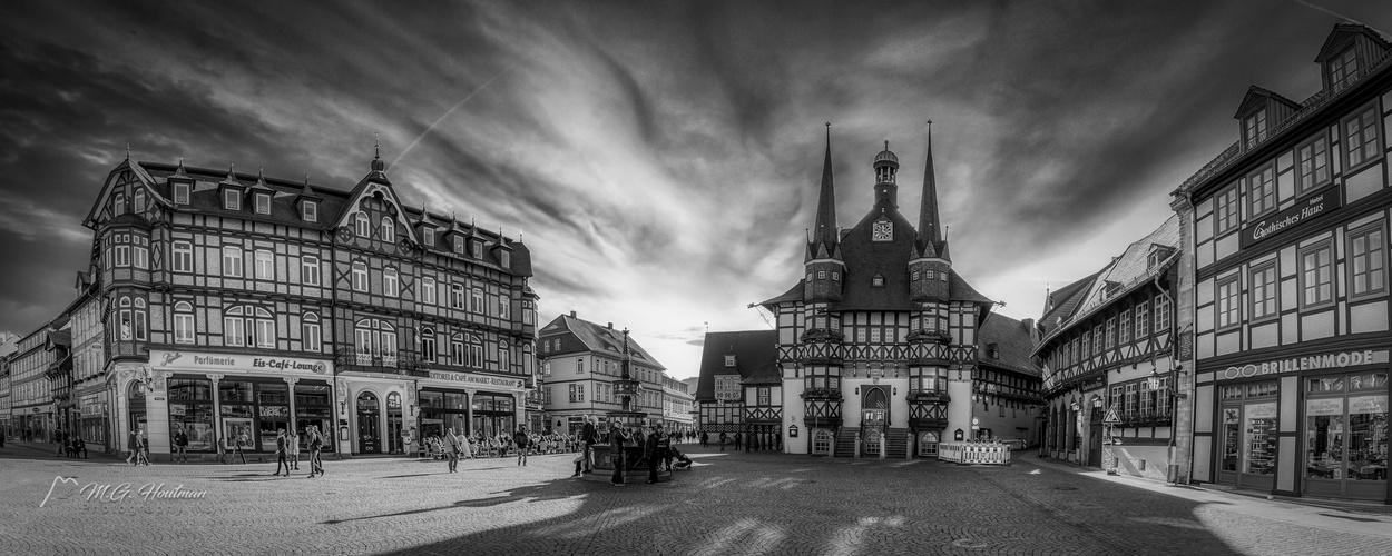Das Rathaus Wernigerode am Marktplatz