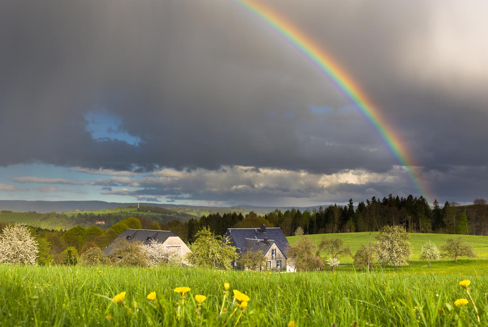 Das Regenbogenhaus...