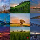 Das Rheinland in leuchtenden Farben