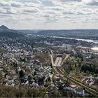 Das Rheintal bei Bonn