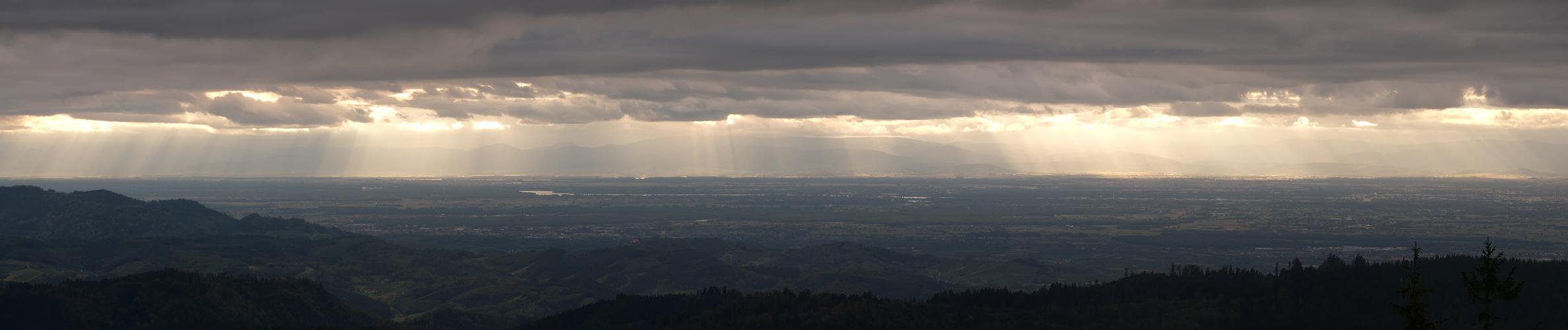 Das Rheintal et l'Alsace