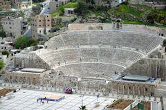 Das Römische Theater in Amman