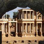 Das römische Theater in Merida / Spanien