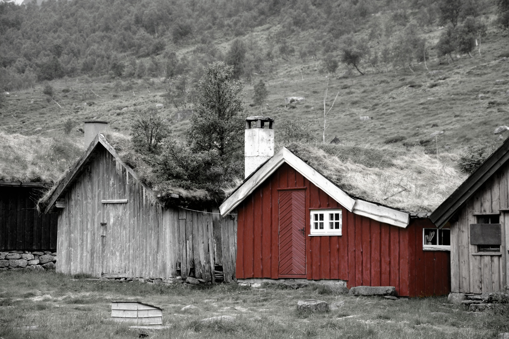 Das rote Haus am Ende der Welt