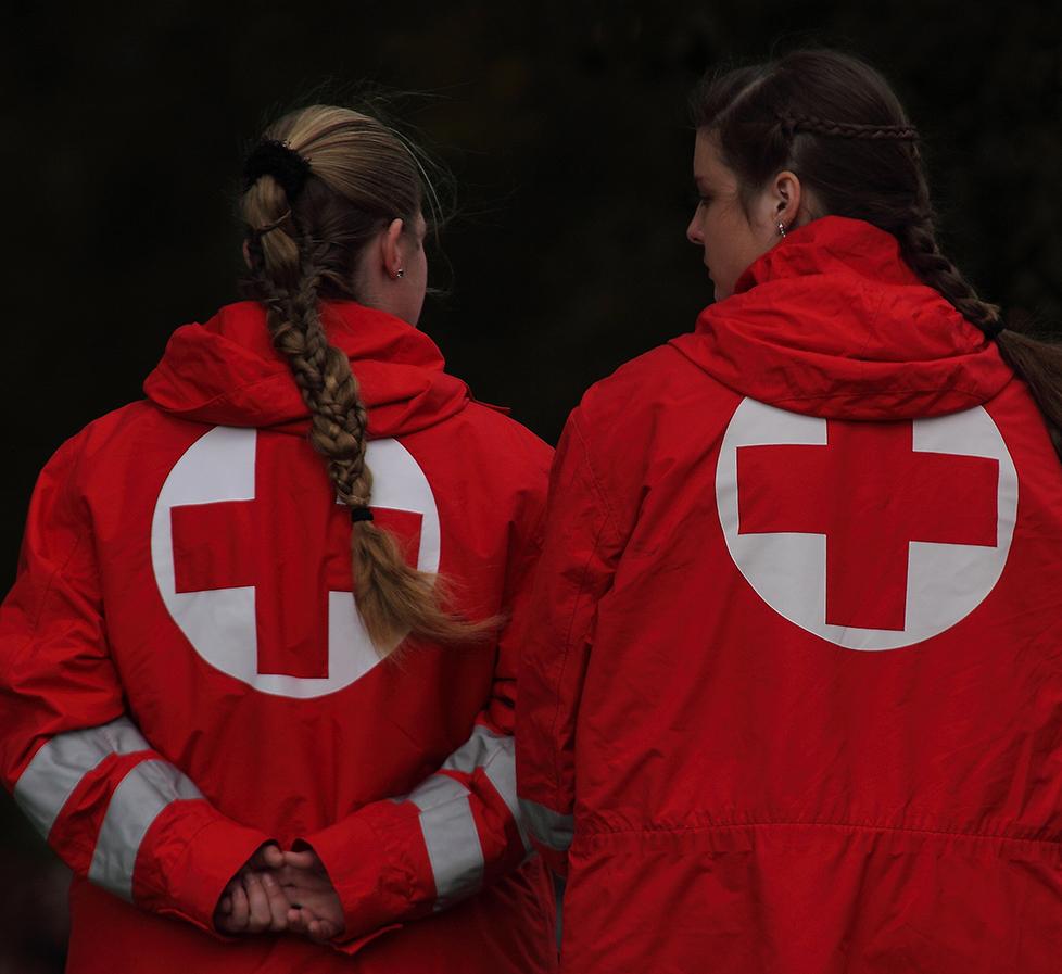 Das Rote Kreuz!