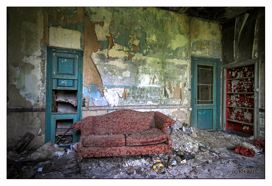 Das rote Sofa...