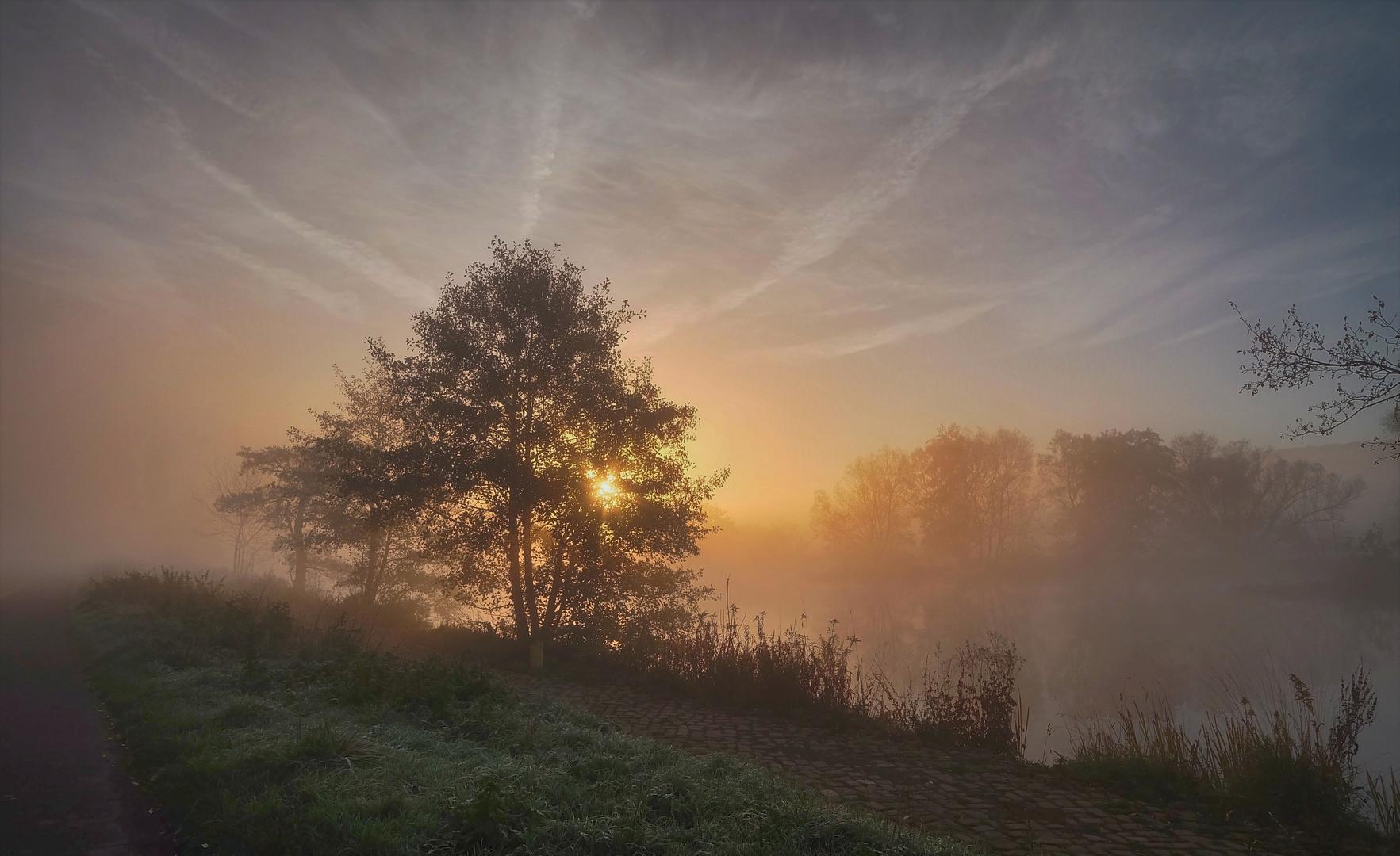 Das Ruhrtal im Nebel (1)