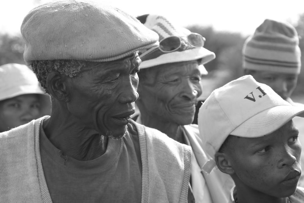 Das San-Volk in Namibia
