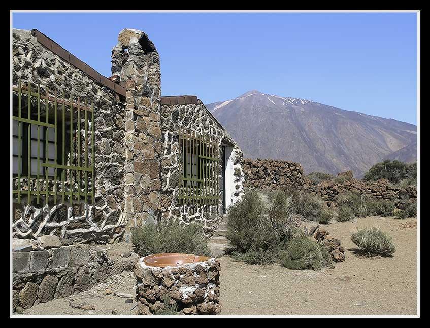 """Das """"Sanatorium"""" am Teide"""
