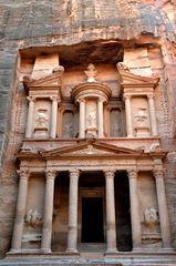 Das Schatzhaus Khazne Faraun in Petra