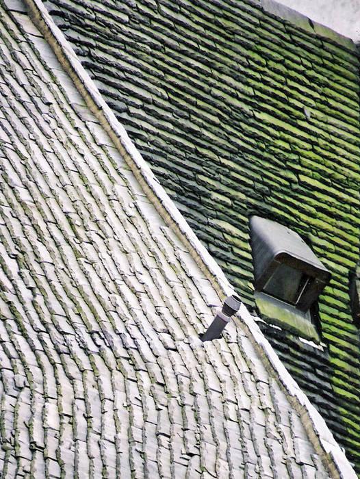 Das schiefe Dach