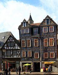 das schiefe Haus von Idstein