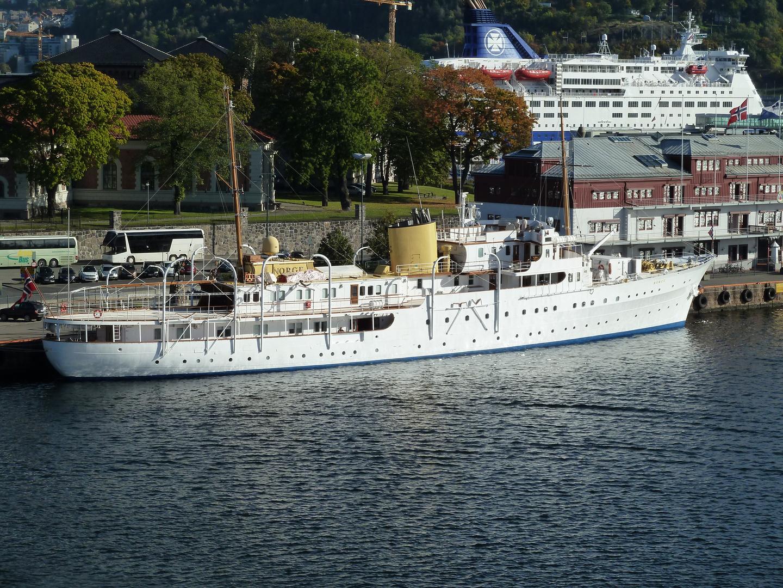 """Das Schiff des Norwegischen Königs, die """"NORGE"""""""