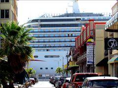 das Schiff in Aruba