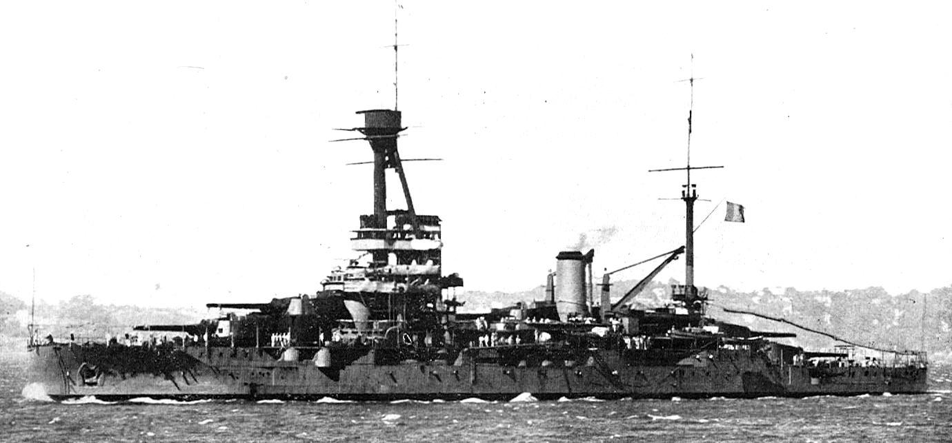 """Das Schlachtschiff """"Provence"""""""