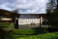 Das Schloss Annevoie in Belgien/Wallonie