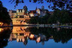 Das Schloß Bernburg