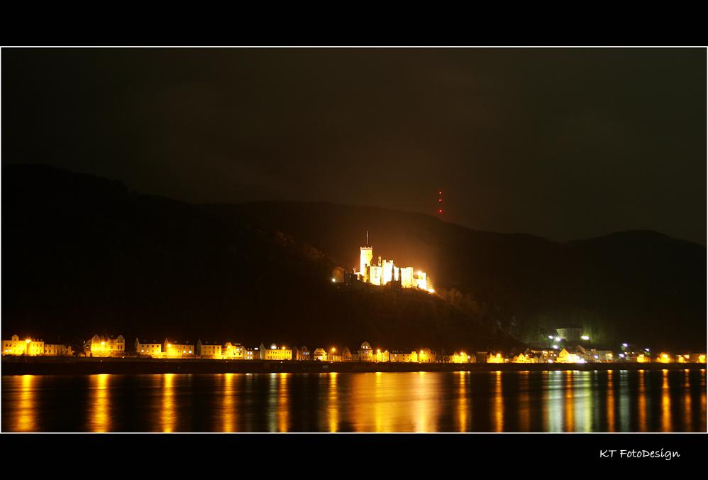 Das Schloss brennt........