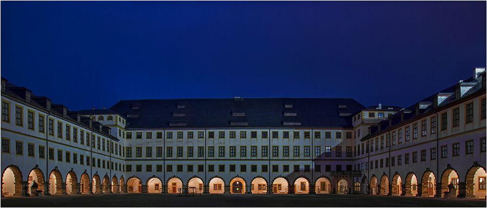 Das Schloß Fiedenstein in Gotha