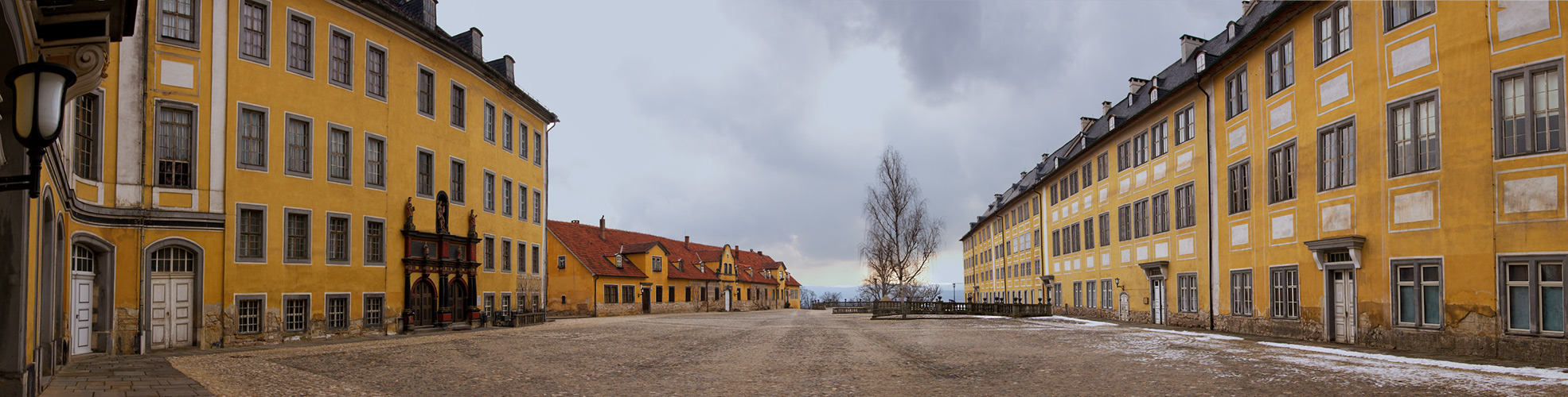 Das Schloss Heidecksburg 1