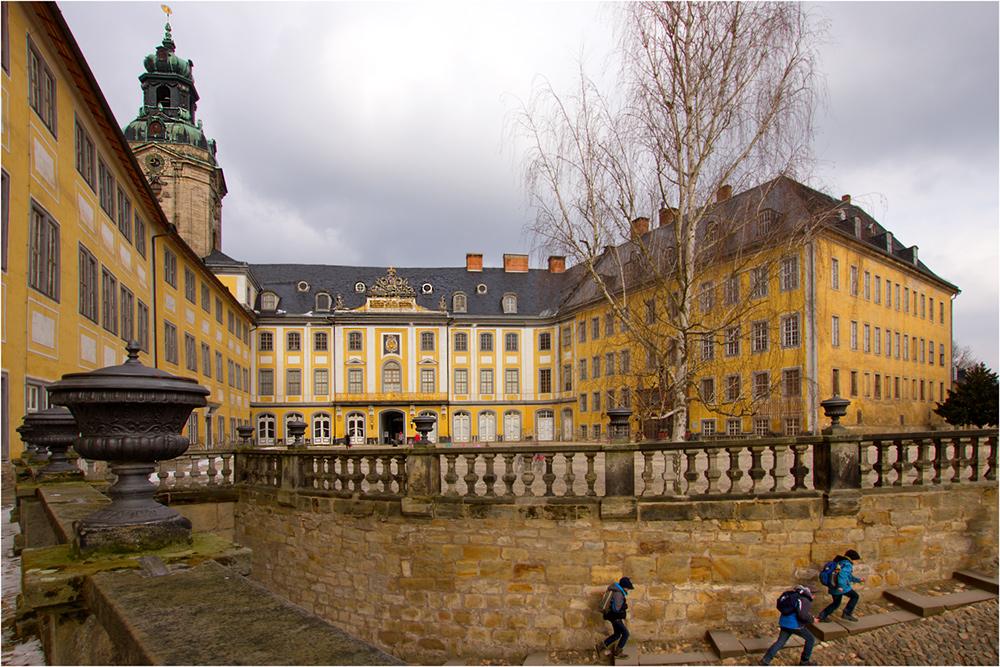 Das Schloss Heidecksburg 3