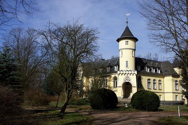 Das Schloss in Hohenbocka 1