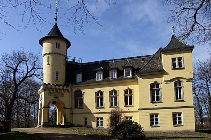 Das Schloss in Hohenbocka 2