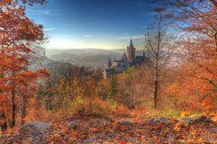 Das Schloss in Wernigerode