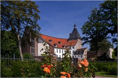Das Schloss Moers im neuen Licht