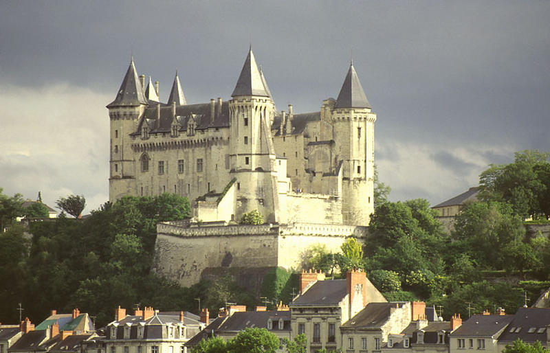 Das Schloss von Saumur
