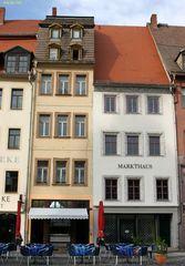 das schmalste Haus am Markt in Altenburg