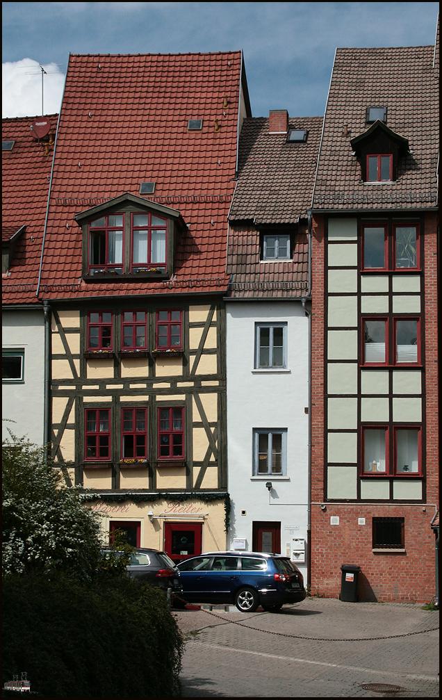 Das Schmalste von Erfurt