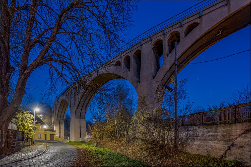 Das Schmalzgrundviadukt als Teilstück der ehemaligen Kupferbahn