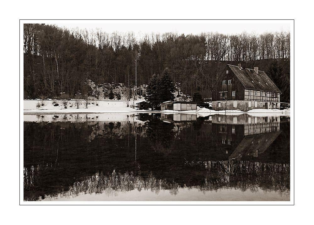 Das Schöne am Hochwasser...