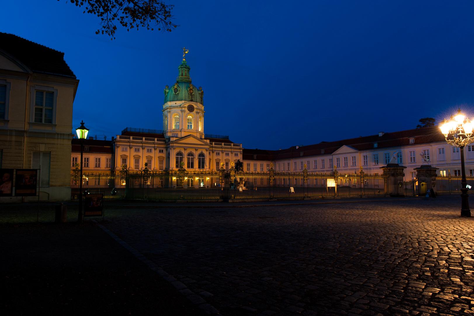 Das schöne Schloss von Charlottenburg