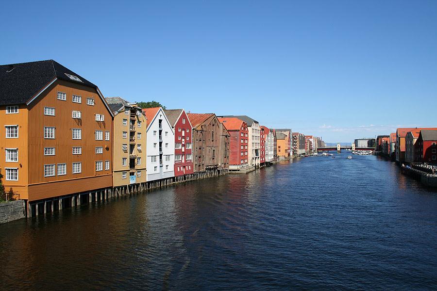 Das schöne Trondheim