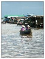Das schwimmende Dorf Chong Kneas - Siem Reap, Kambodscha