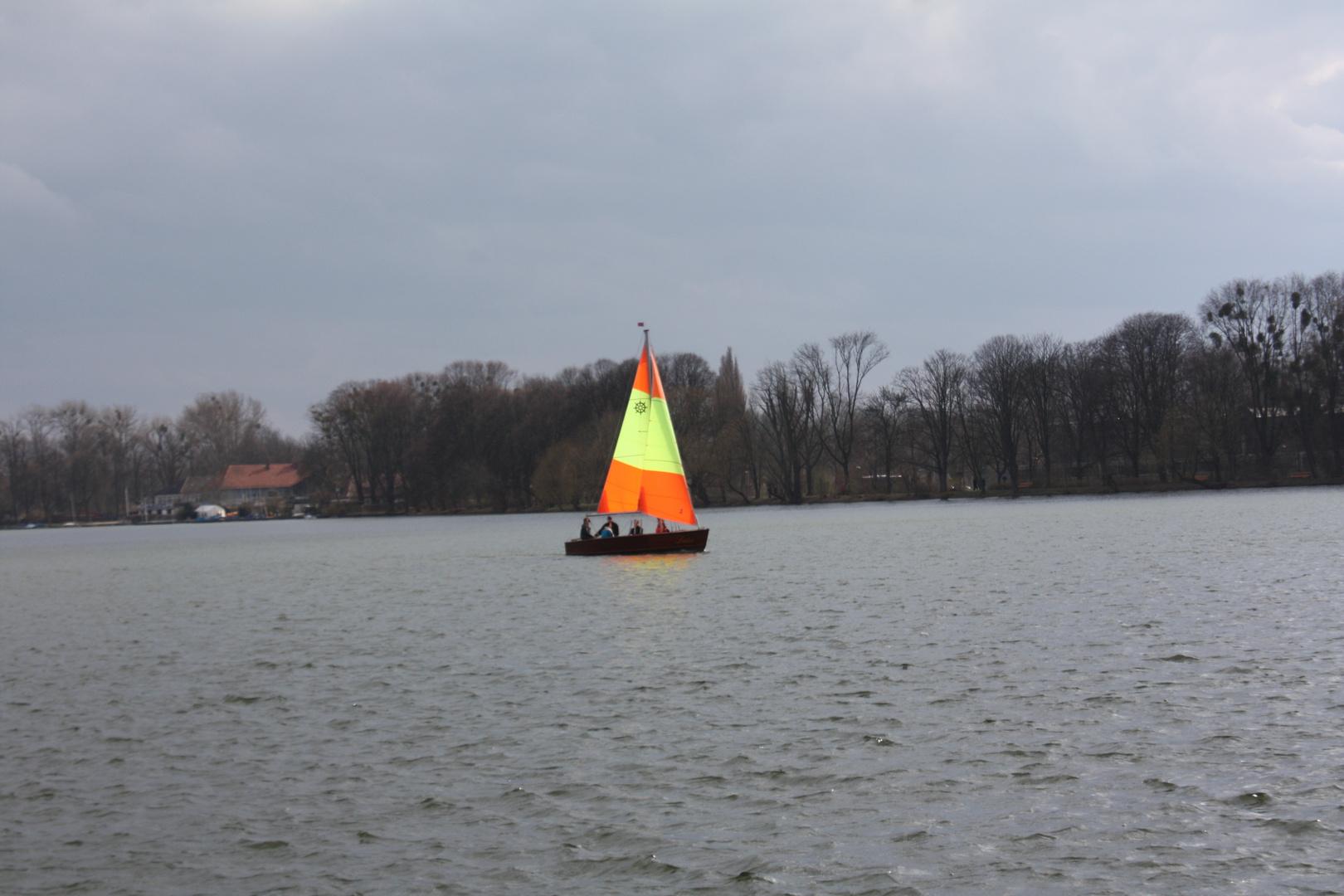 Das Segelboot
