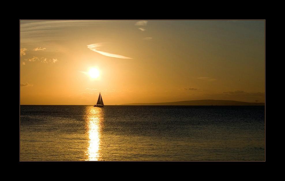 *Das Segelboot*