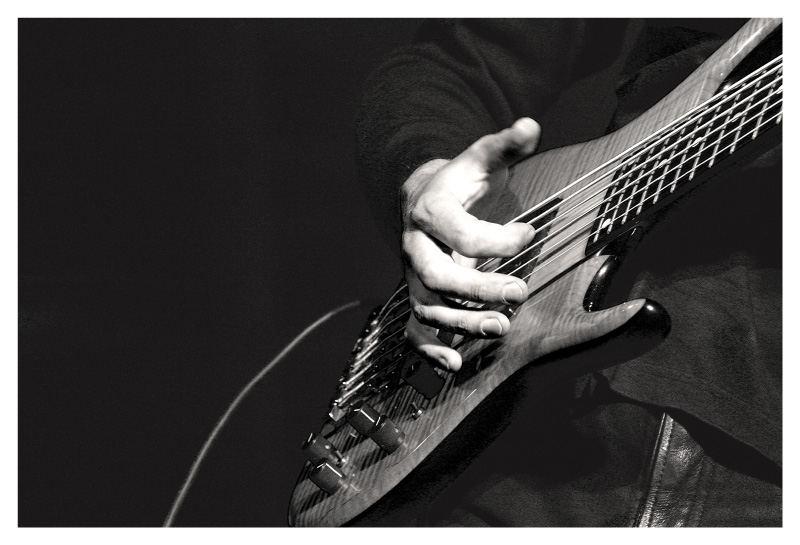 Das Solo des Bassgitarristen 1